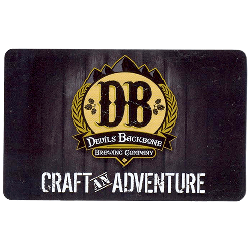 $50 Devils Backbone Gift Card