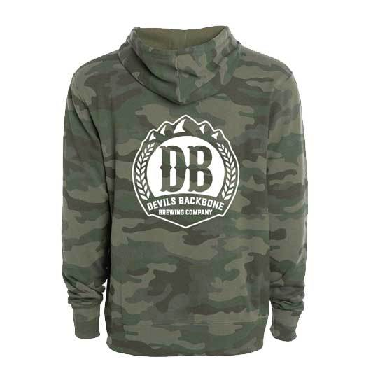 Devils Backbone Army Camo Hooded Sweatshirt