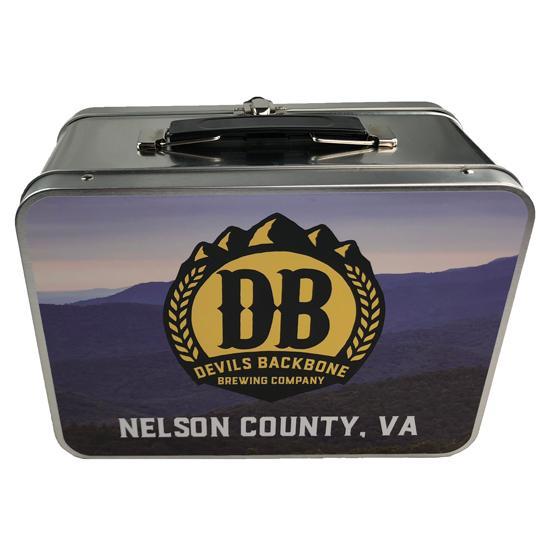 Devils Backbone Retro Metal Lunchbox - Nelson County, Virginia