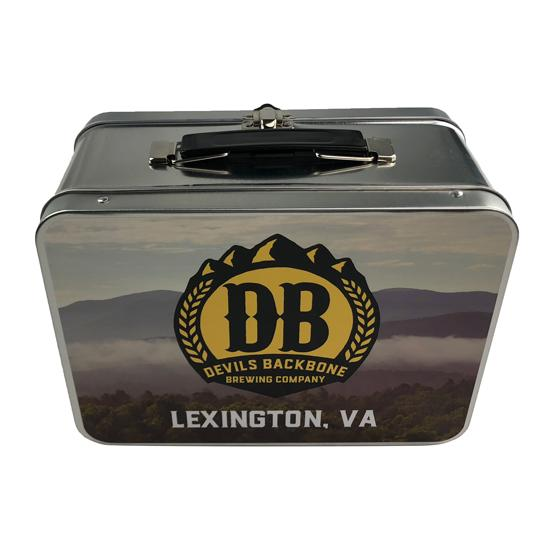 Devils Backbone Retro Metal Lunchbox - Lexington, Virginia