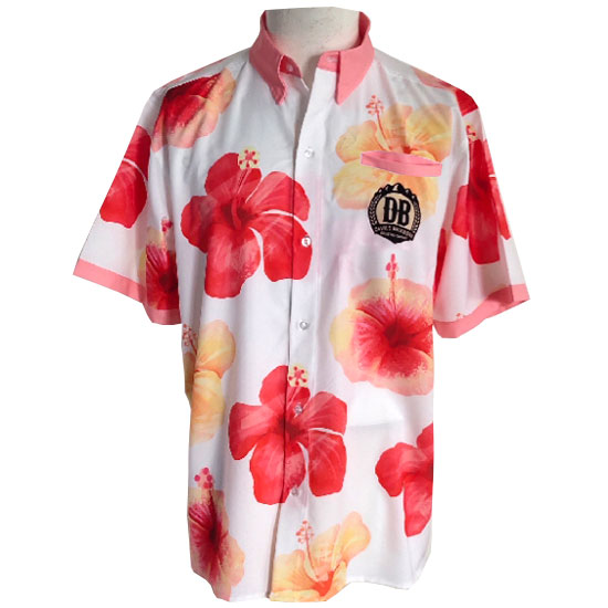 Devils Backbone Hibiscus Hard Lemonade Hawaiian Shirt