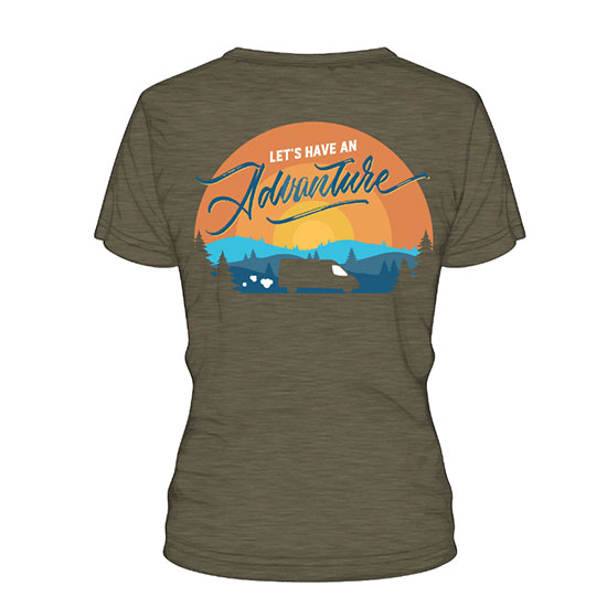 Devils Backbone Brewing Company Advanture Van T-Shirt - Back View