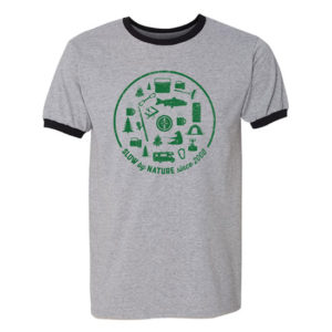 Devils Backbone 2019 Thru Hike Men's Ringer T-Shirt - Front View