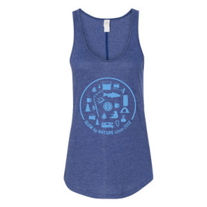 Devils Backbone Brewing Company 2019 Thru Hike Vintage Jersey Tank - Front View