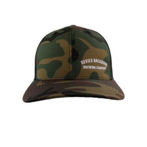 Devils Backbone Yupoong Camo Trucker Hat