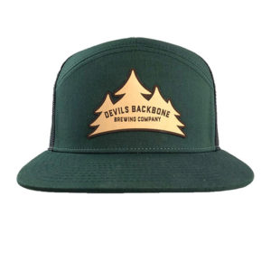 Devils Backbone Brewing Company Flat Bill Snapback Trucker Hat