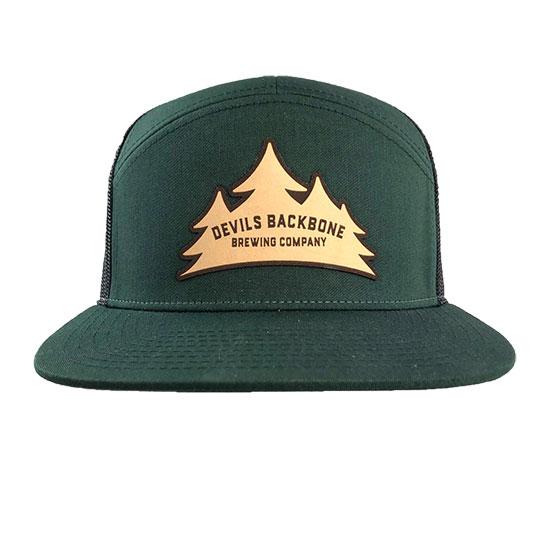Devils Backbone Brewing Company Flat Bill Snapback Trucker Hat