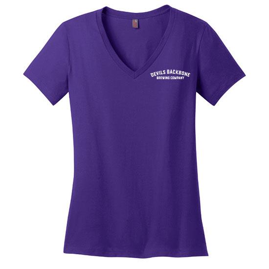 Devils Backbone Brewing Company Ladies V-Neck T-Shirt