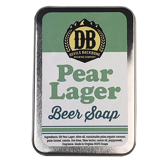 Devils Backbone Pear Lager Soap