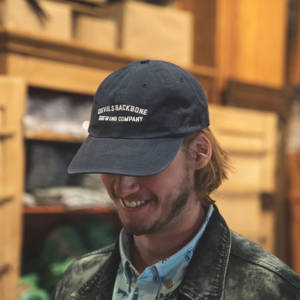 Devils Backbone Garment Washed Twill Hat - Navy