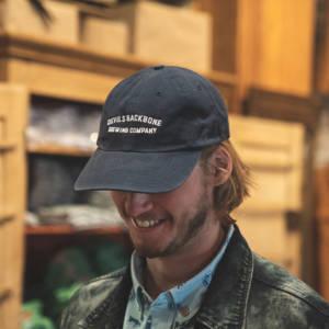 Devils Backbone Garment Washed Twill Hat - Navy