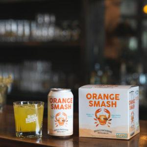 Devils Backbone Orange Smash Cocktail