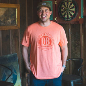 DEVILS BACKBONE TRI-BLEND T-SHIRT - ORANGE