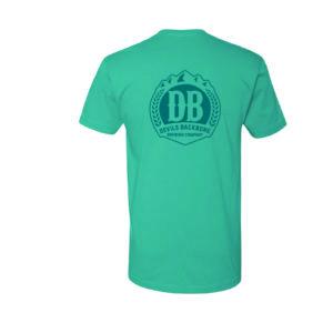 Devils Backbone Ringspun T-Shirt - Tahiti Blue