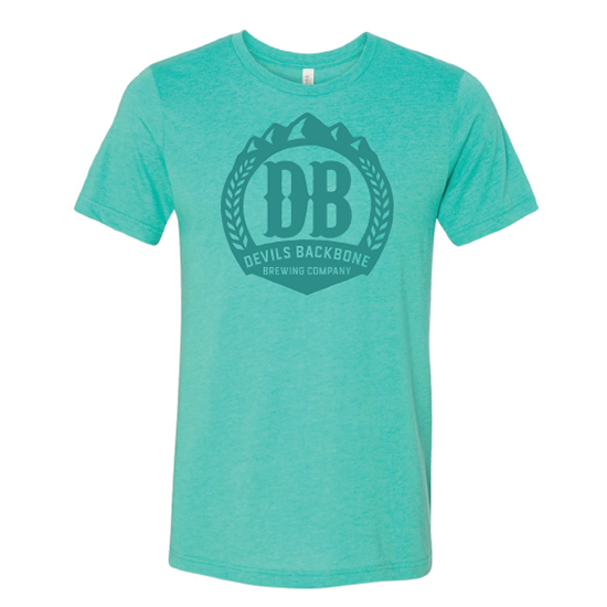 Devils Backbone Brewing Company Triblend T-shirt - Sea Foam Green