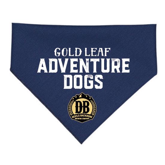 Devils Backbone Brewing Company Gold Leaf Adventure Dogs Bandana