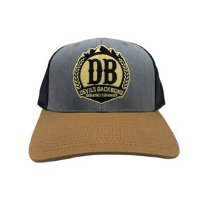 Devils Backbone Snapback Trucker Hat