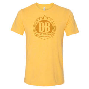 Devils Backbone Brewing Company T-Shirt - Yellow