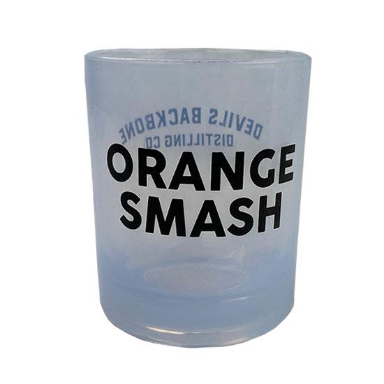 Devils Backbone Distilling Company 12 Oz. Orange Smash Silipint Rocks Glass