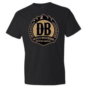 Devils Backbone Ringspun Cotton T-Shirt - Distressed Imprint
