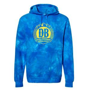 Devils Backbone Brewing Unisex Midweight Tye Die Hooded Sweatshirt