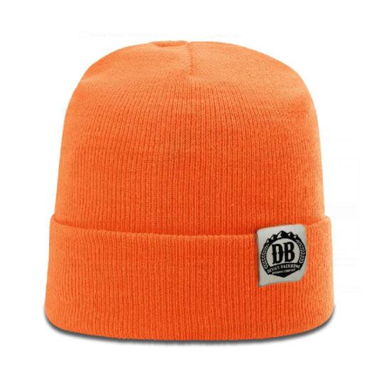 Devils Backbone Brewing Company Blaze Orange Knit Beanie